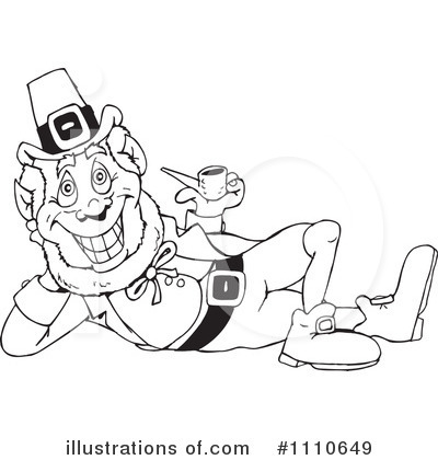 Leprechaun Clipart #1110649 by Dennis Holmes Designs