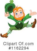 Royalty-Free (RF) Leprechaun Clipart Illustration #1162294