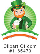 Royalty-Free (RF) Leprechaun Clipart Illustration #1165470