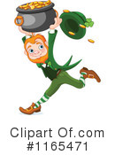 Royalty-Free (RF) Leprechaun Clipart Illustration #1165471