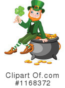 Royalty-Free (RF) Leprechaun Clipart Illustration #1168372