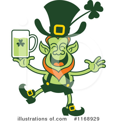 Royalty-Free (RF) Leprechaun Clipart Illustration by Zooco - Stock Sample #1168929