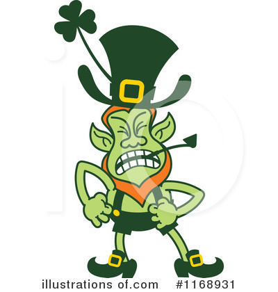 Leprechaun Clipart #1168931 by Zooco