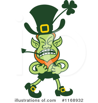 Leprechaun Clipart #1168932 by Zooco