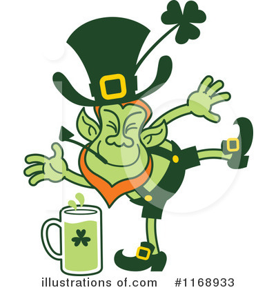 Leprechaun Clipart #1168933 by Zooco