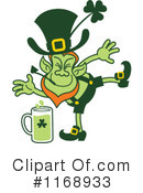 Royalty-Free (RF) Leprechaun Clipart Illustration #1168933