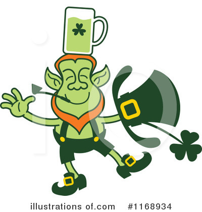 Leprechaun Clipart #1168934 by Zooco