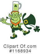 Royalty-Free (RF) Leprechaun Clipart Illustration #1168934