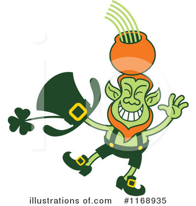Leprechaun Clipart #1168935 by Zooco