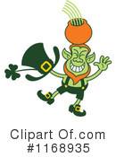 Royalty-Free (RF) Leprechaun Clipart Illustration #1168935