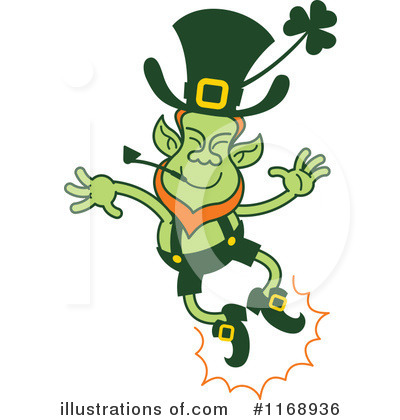 Leprechaun Clipart #1168936 by Zooco