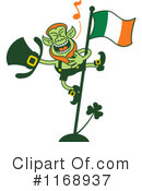 Royalty-Free (RF) Leprechaun Clipart Illustration #1168937