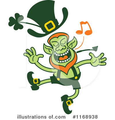 Leprechaun Clipart #1168938 by Zooco