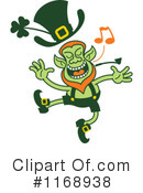 Royalty-Free (RF) Leprechaun Clipart Illustration #1168938