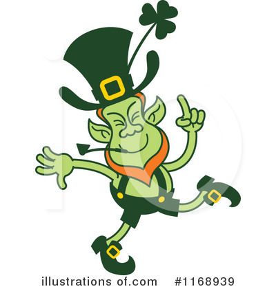 Leprechaun Clipart #1168939 by Zooco