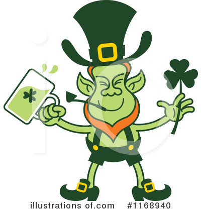 Leprechaun Clipart #1168940 by Zooco
