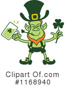 Royalty-Free (RF) Leprechaun Clipart Illustration #1168940