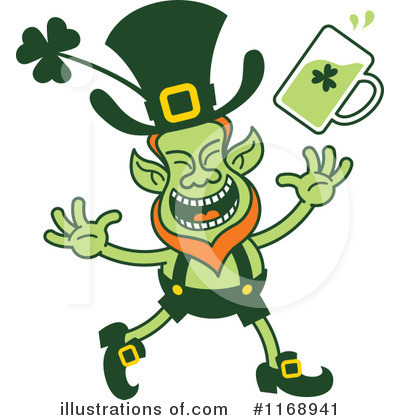 Leprechaun Clipart #1168941 by Zooco