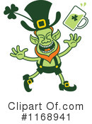 Royalty-Free (RF) Leprechaun Clipart Illustration #1168941