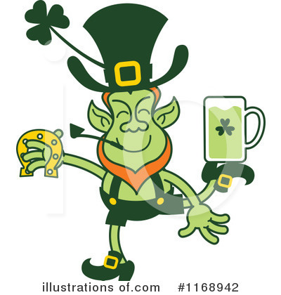 Leprechaun Clipart #1168942 by Zooco
