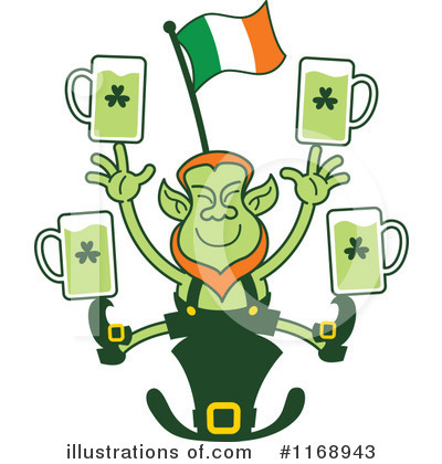 Leprechaun Clipart #1168943 by Zooco