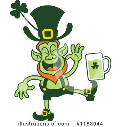 Leprechaun Clipart #1168944 by Zooco