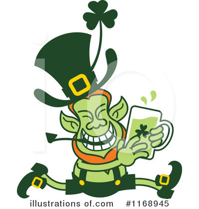 Leprechaun Clipart #1168945 by Zooco
