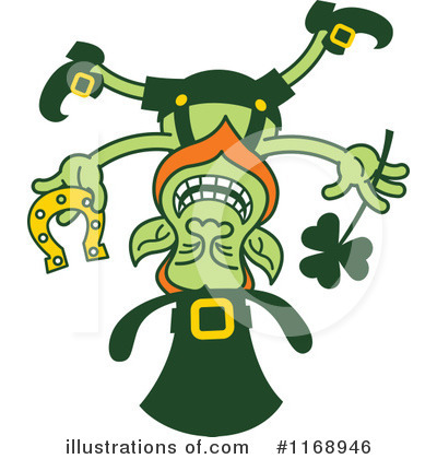 Leprechaun Clipart #1168946 by Zooco