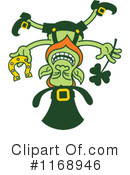 Royalty-Free (RF) Leprechaun Clipart Illustration #1168946