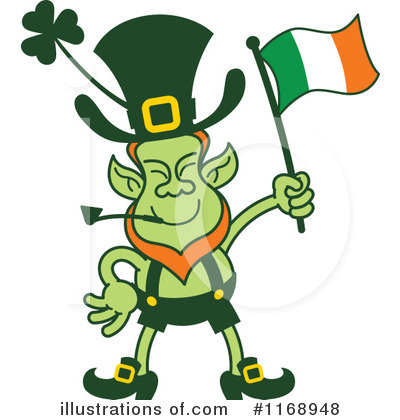 Royalty-Free (RF) Leprechaun Clipart Illustration by Zooco - Stock Sample #1168948