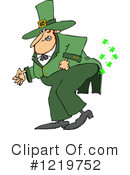 Leprechaun Clipart #1219752 by djart