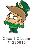 Leprechaun Clipart #1230815 by toonaday