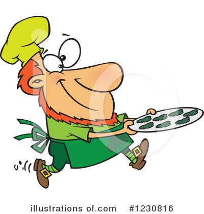 Leprechaun Clipart #1230816 by toonaday