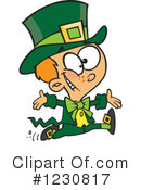 Leprechaun Clipart #1230817 by toonaday