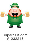 Leprechaun Clipart #1232243 by Cory Thoman