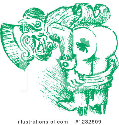St Paddys Clipart #1232609 by Andy Nortnik