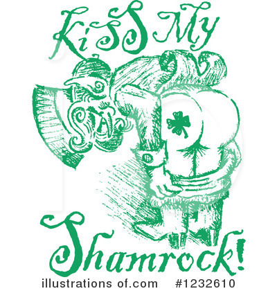 St Paddys Clipart #1232610 by Andy Nortnik