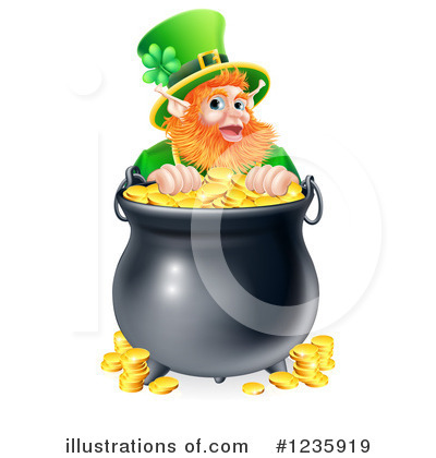 Leprechaun Clipart #1235919 by AtStockIllustration