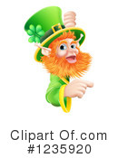 Leprechaun Clipart #1235920 by AtStockIllustration