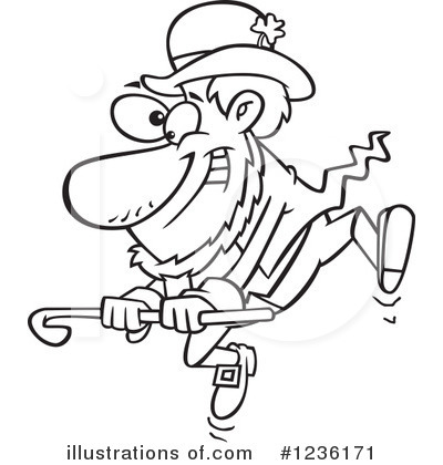 Leprechaun Clipart #1236171 by toonaday