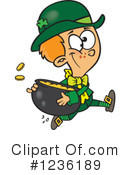 Leprechaun Clipart #1236189 by toonaday