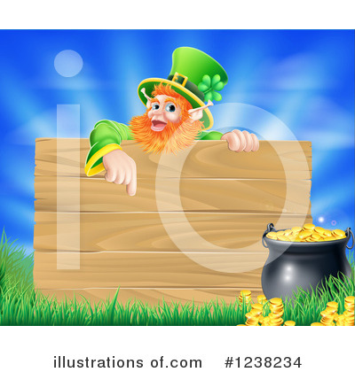 Leprechaun Clipart #1238234 by AtStockIllustration