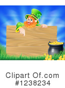 Royalty-Free (RF) Leprechaun Clipart Illustration #1238234