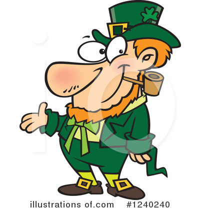 Leprechaun Clipart #1240240 by toonaday