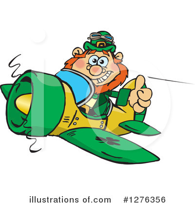 Leprechaun Clipart #1276356 by Dennis Holmes Designs