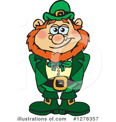 Leprechaun Clipart #1276357 by Dennis Holmes Designs