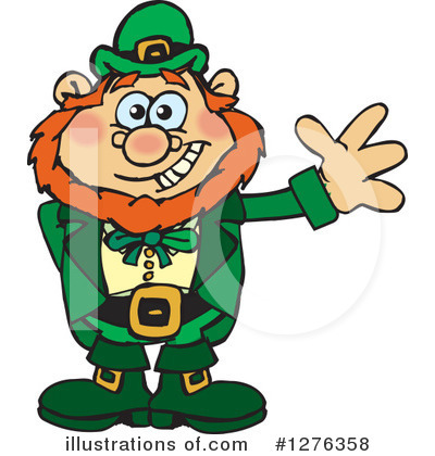 St Patricks Day Clipart #1276358 by Dennis Holmes Designs