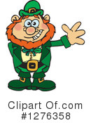Royalty-Free (RF) Leprechaun Clipart Illustration #1276358