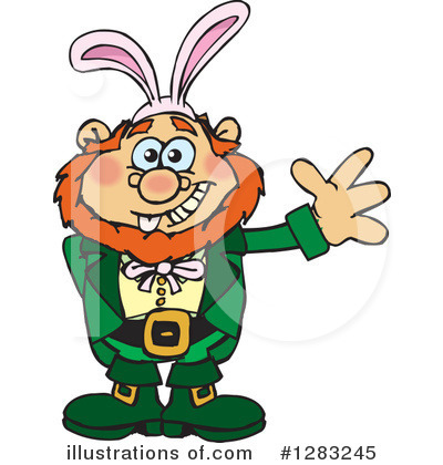 Leprechaun Clipart #1283245 by Dennis Holmes Designs