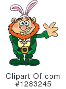Royalty-Free (RF) Leprechaun Clipart Illustration #1283245